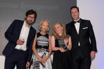 customer engagement winners - swccf awards 2018